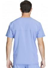"Blouse Médicale Homme Antibactérienne Cherokee, Collection ""Infinity"" (CK900A) bleu ciel dos"