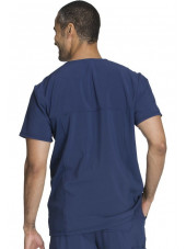 "Blouse Médicale Homme Antibactérienne Cherokee, Collection ""Infinity"" (CK900A) bleu marine dos"