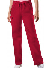 Pantalon médical cordon Unisexe, Cherokee Workwear Originals (4100) rouge