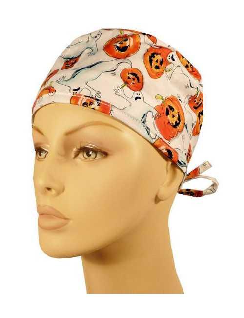 """Calot médical à lanière """"Pumpkin&Ghosts"""" (210-8293)"""