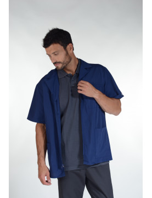 "Zipped medical blouse, man, Cherokee ""Authentic scrub"" (4300)"