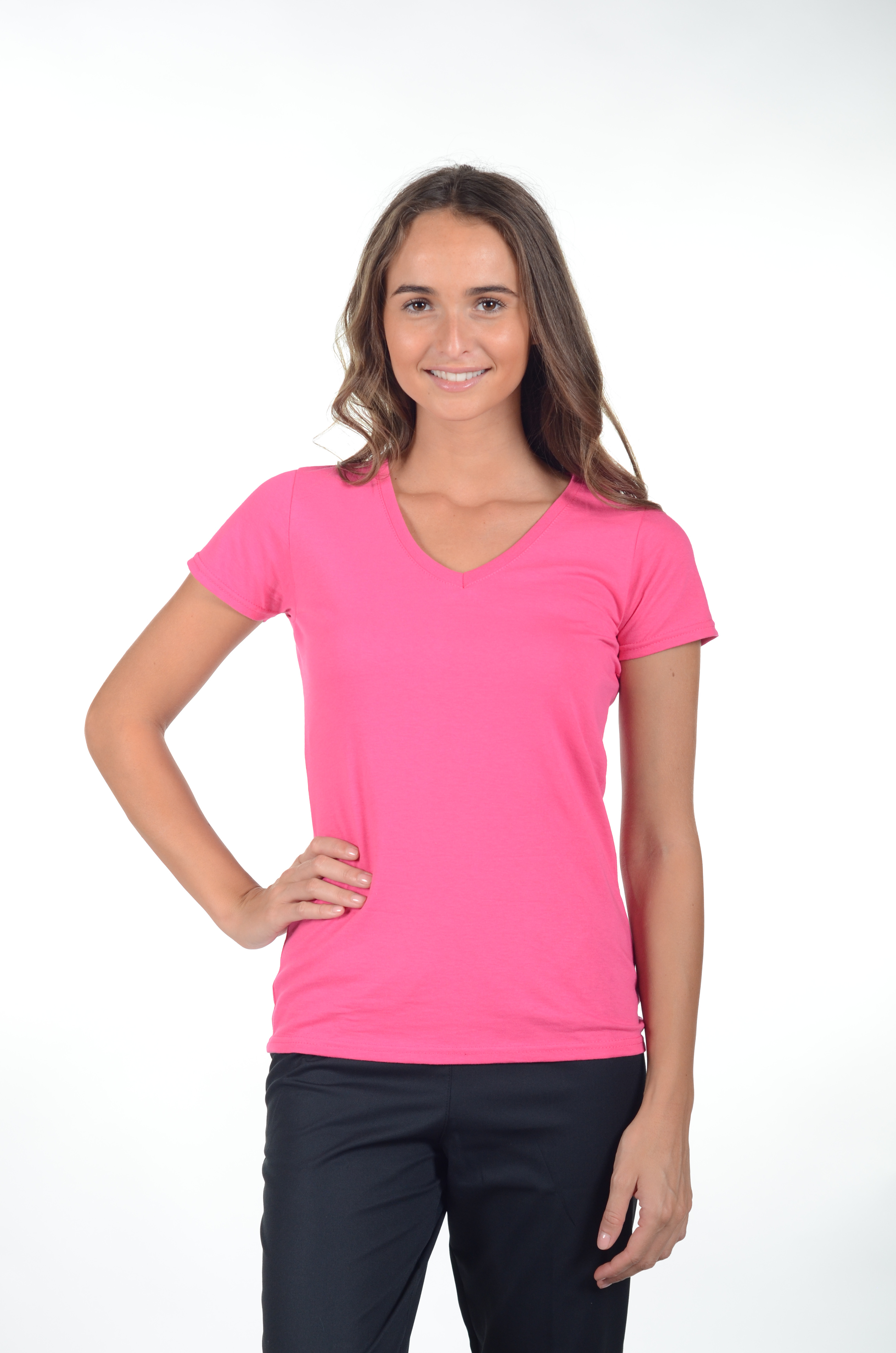5fd50c5696 ... Tee-shirt femme Col V