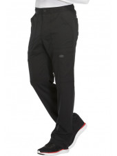 "Pantalon médical homme Dickies, collection ""Dynamix"" (DK110) noir face"