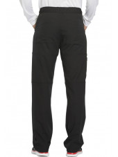 "Pantalon médical homme Dickies, collection ""Dynamix"" (DK110) noir dos"