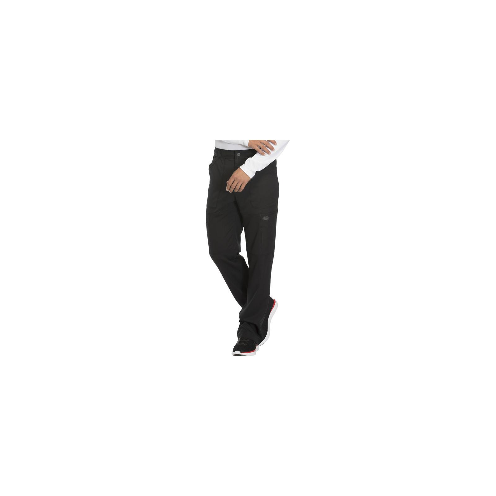 """Pantalon médical homme Dickies, collection """"Dynamix"""" (DK110) noir droite"""