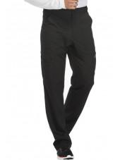 "Pantalon médical homme Dickies, collection ""Dynamix"" (DK110) noir gauche"