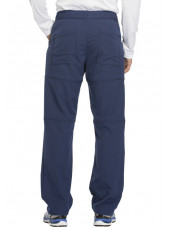 "Pantalon médical homme Dickies, collection ""Dynamix"" (DK110) marine dos"