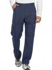 "Pantalon médical homme Dickies, collection ""Dynamix"" (DK110) marine face 2"