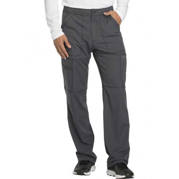 """Pantalon médical homme Dickies, collection """"Dynamix"""" (DK110) gris face"""
