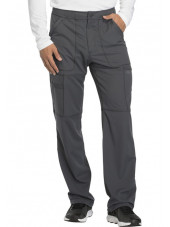 "Pantalon médical homme Dickies, collection ""Dynamix"" (DK110) gris face"