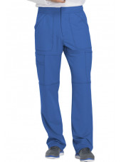 "Pantalon médical homme Dickies, collection ""Dynamix"" (DK110) bleu royal face"
