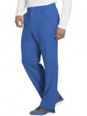 "Pantalon médical homme Dickies, collection ""Dynamix"" (DK110) bleu royal coté"