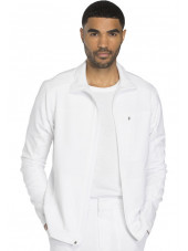 "Blouson médical homme Dickies, collection ""Dynamix"" (DK310) blanc face"