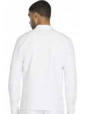 "Blouson médical homme Dickies, collection ""Dynamix"" (DK310) blanc dos"
