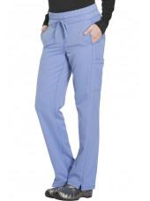 """Pantalon Médical femme Dickies, Collection """"Dynamix"""" (DK130) ciel droite"""
