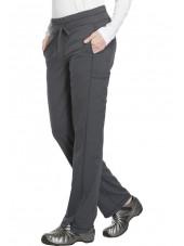 """Pantalon Médical femme Dickies, Collection """"Dynamix"""" (DK130) gris droite"""