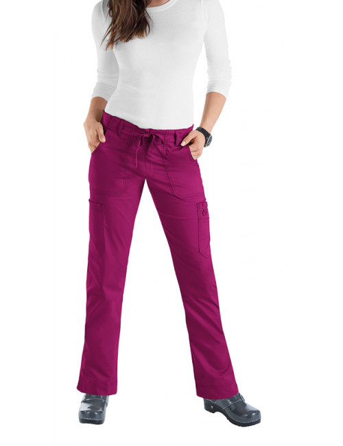 "Pantalon médicale Femme Koi cordon ""Lindsey"", collection Koi Stretch (710)"