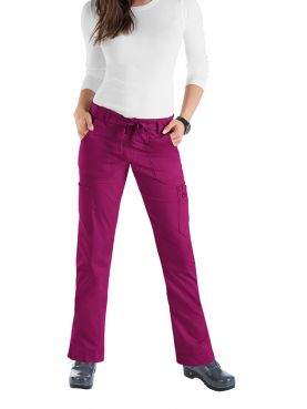 "Women's medical pants Koi cord ""Lindsey"", collection Koi Stretch (710)"