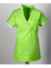 "Blouse médicale femme ""Laura"", Clinic dress vert face"