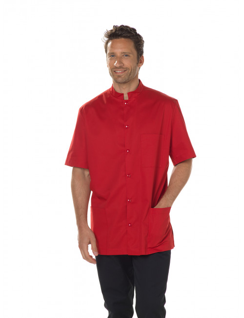 """Stretch medical gown, mao pressure collar, CMT collection """"Stretch plain"""" (007)"""