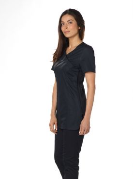 "Blouse médicale Stretch, cache coeur, CMT, Collection ""Stretch uni"" (2614)"