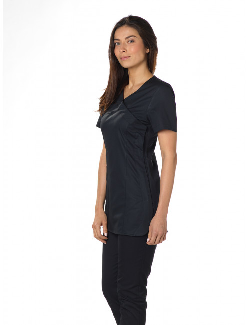 "Blouse médicale, col tailleur, CMT, Collection ""Stretch"" (2613)"