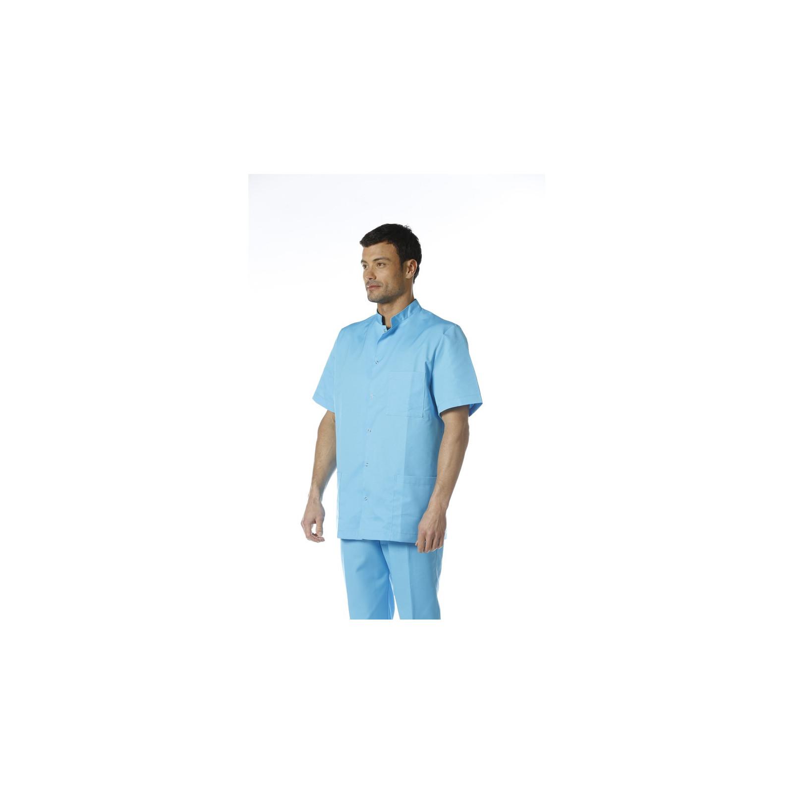 """Blouse médicale unisexe pression,CMT collection """"classic"""" (007)"""