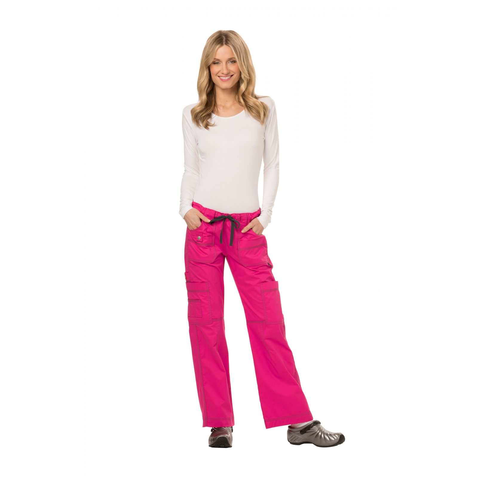 "Pantalon médical multipoches, femme, Dickies, Collection ""GenFlex"" (857455)"