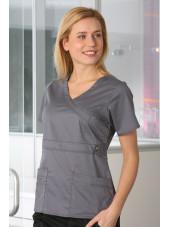 "Blouse médicale Femme Dickies, collection ""GenFlex"" (817355) gris clair"