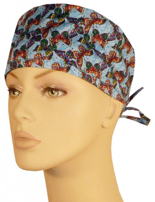 "CALOT  ""Multi Colored Butterflies on Blue""  (210-8542)"