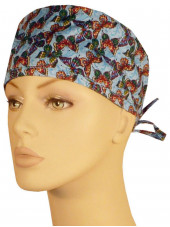 """CALOT  """"Multi Colored Butterflies on Blue""""  (210-8542)"""