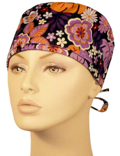 "CALOT  ""Purple & Orange floral"" (210-8551)"