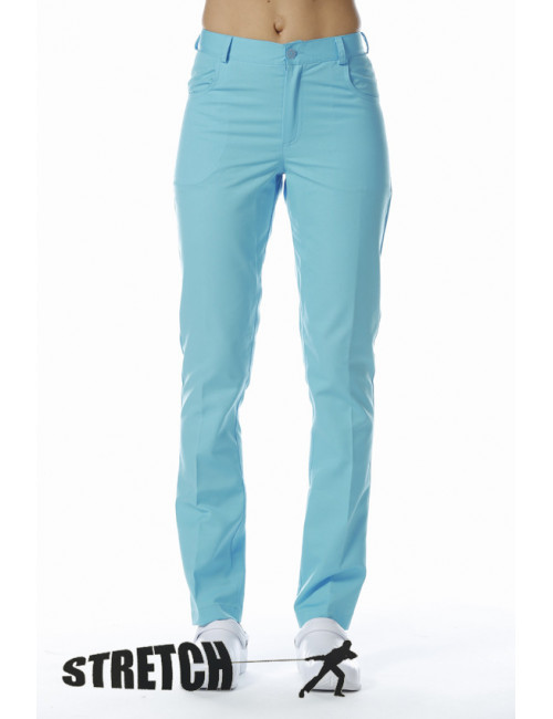 "Pantalon médical femme en Stretch , CMT collection ""stretch"" (282)"