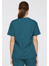 "Col V médical unisexe, Dickies, 2 poches, Collection ""Everyday Scrubs"" (86706)"