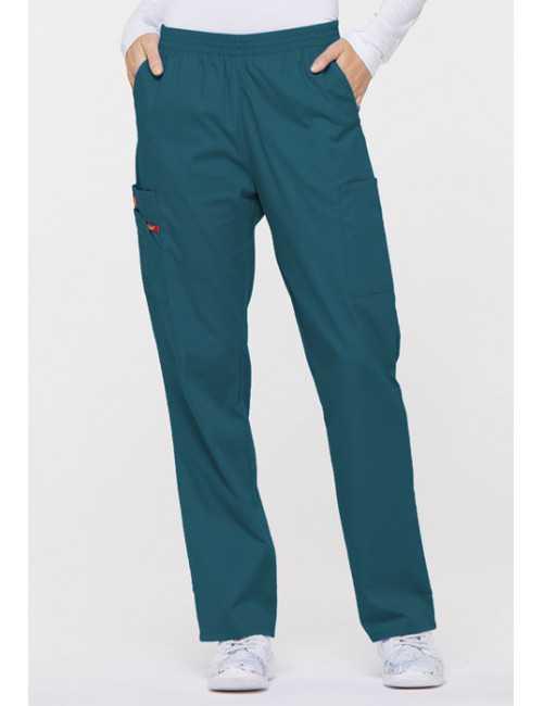 """Pantalon médical unisexe élastique, Dickies, collection """"EDS signature"""" (86106)"""