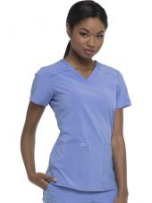 """Blouse Médicale femme, Dickies, """"EDS Essentials"""" (DK615) bleu ciel coté"""