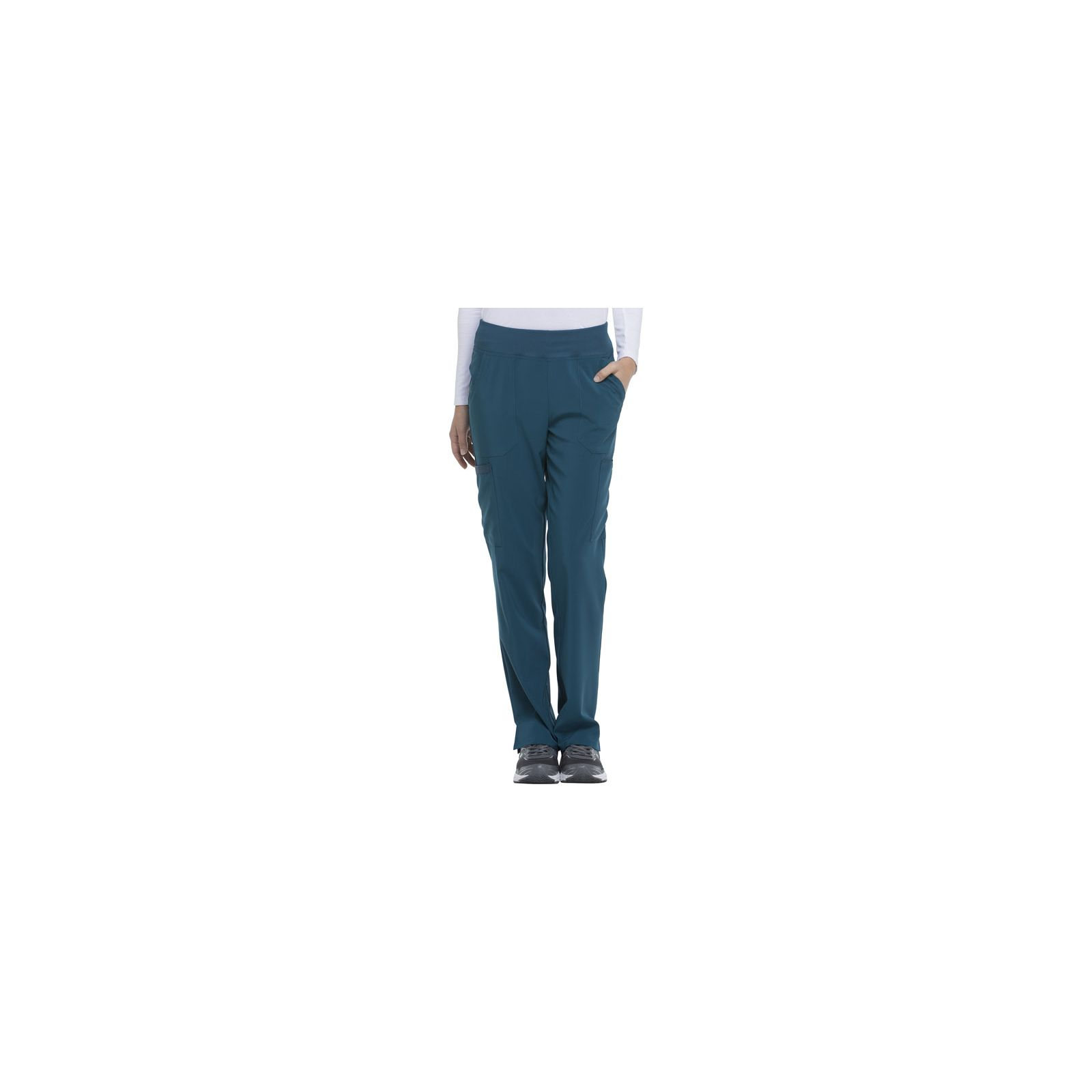 "Pantalon Médical Femme, Dickies, ""EDS Essentials"" (DK005) caraïbe face"
