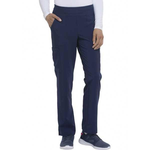 """Pantalon Médical Femme, Dickies, """"EDS Essentials"""" (DK005) bleu marine face"""