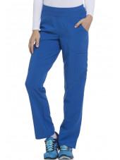 "Pantalon Médical Femme, Dickies, ""EDS Essentials"" (DK005) bleu royal face"