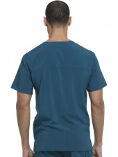 "Blouse Médicale Homme, Dickies, ""EDS Essentials"" (DK645) caraïbe dos"