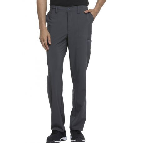 "Pantalon Médical Homme, Dickies, ""EDS Essentials"" (DK015) gris face"