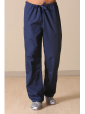 Pantalon médical cordon Unisexe, Cherokee Workwear Originals (4100) bleu marine face