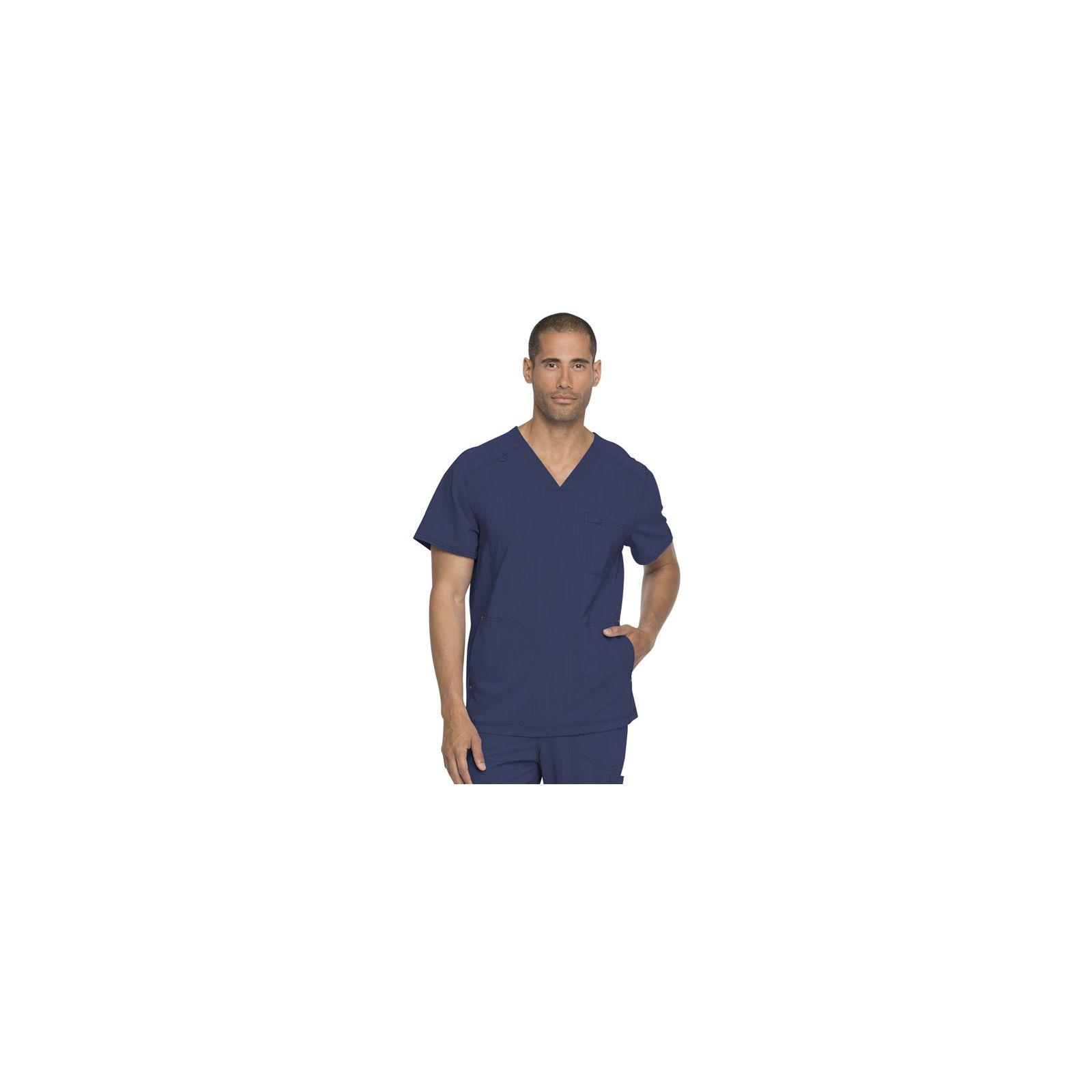 "Blouse médicale Homme, collection ""Dickies Advance"" (DK750) face bleu marine"